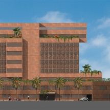 Hussein Dey new hospital - Louis Saade Architects
